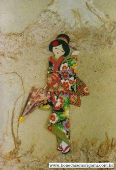 O QUE É MEU É NOSSO: Ningyogami - Boneca Japonesa - Japanese Paper Doll - 3