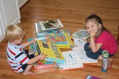 homeschool/preschool daily schedule