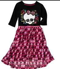 Monster High Girls Dress NEW Size 10/12 Clothing
