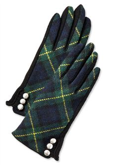 Shop 10 Plaid Pieces - Lauren Ralph Lauren Gloves from #InStyle