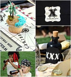Pirate theme birthday