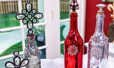 @cristinacooks makes Ornamental Bottle Toppers on #homeandfamily! Tune in weekdays at 10/9c on Hallmark Channel!