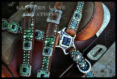 Green Patent snake, custom tack set heading to Youth world :)