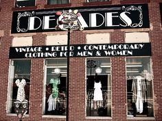 Decades Vintage Clothing, Los Angeles