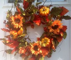Mimi's Fall Fiesta Autumn Front Door Wreath Wreaths For Door http://www.amazon.com/dp/B00MBOCXNK/ref=cm_sw_r_pi_dp_tSp6tb1HX809G
