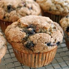 100% Whole Wheat Blueberry Muffins made with King Arthur Flour & Stonyfield yogurt! #WakeUpWithStonyfield