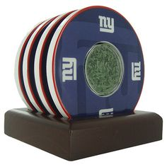 5-Piece New York Giants Coaster Set