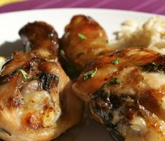 Oven Cooked Chicken in Soy Sauce Recipe