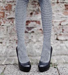 Literary stockings.