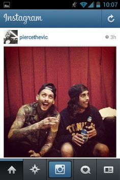 Mike Fuentes And Vic Fuentes InstagramVic Fuentes And Mike Fuentes Young