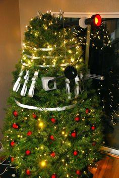 #drwho #dalek #christmastree #Lettersfromsanta http://www.fatherchristmasletters.co.uk/letter-from-santa.asp