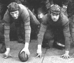 The evolution of the leather football helmet