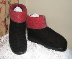 Making felt boots