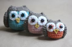 shower gifts, baby owls, crochet owls, famili amigurumi, families, crochet patterns, repeat crafter, owl famili, amigurumi patterns