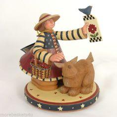 Longaberger Baskets Williraye All American Beauty Figurine New in Box