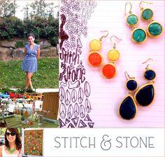 stitch, stone jewel