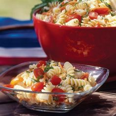Spice up your pasta salad with these fresh herbs from spoonful.com