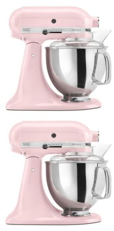 Mixer giveaway - not one but two!! Just a little {pink - if you chose it} mixer love...