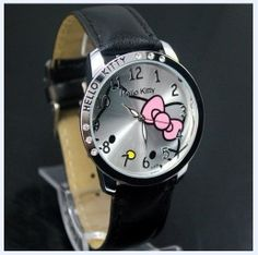 lovely hellokitty Girls Ladies Wrist Watch Quartz Fashion Gift NiceNew lovel New
