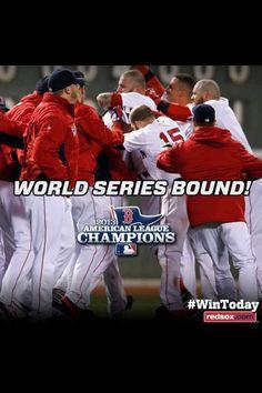 Boston Red Sox! World Series!!!