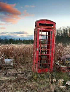Old Phone Booth