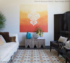 Chez Ali Moroccan Stencil by Shannon Kaye | Royal Design Studio