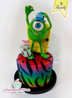 Sweet Monster - by marielly @ CakesDecor.com - cake decorating website