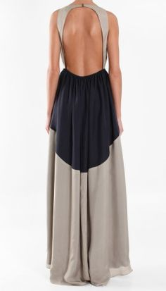 Silk Long Dress | Shop | Tibi