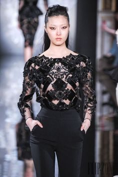Nina Ricci FallWinter 2014-2015 Collection – Paris Fashion Week