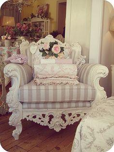 decor, interior, idea, dream, chairs, shabbi chic, furnitur, bedroom, design