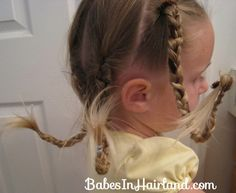 Pipe Cleaner Braids for Crazy Hair! Perfect for Pippy Longstocking!