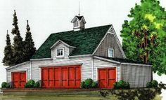 Bethany Coach House Plans at BarnsBarnsBarns.com