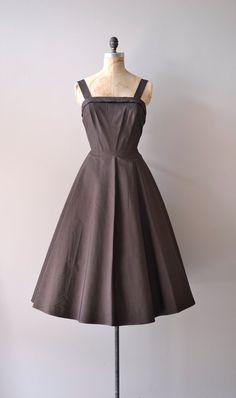 1950s dress / vintage 50s dress / Grace Arcuri by DearGolden, $144.00