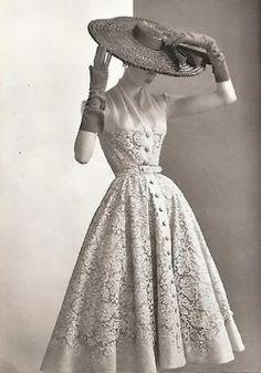 lace shirtdress...timeless