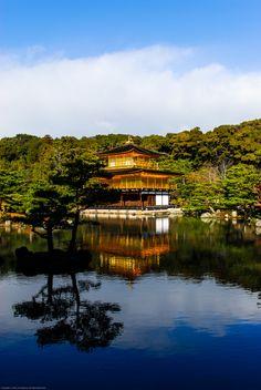 Kinkaku-ji Temple, Kyōto (京都市)