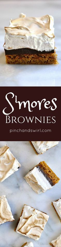 These S'mores Browni