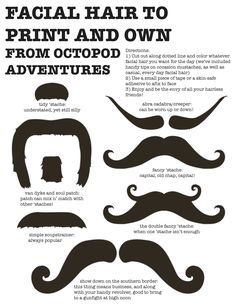 mustache party, download mustach, coloring, librari, facials