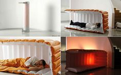Great idea for overnight guests. The new air mattress.