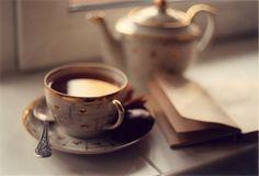 Tea morning.