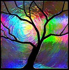 tree, color, desert studio, artist, red desert, rainbow