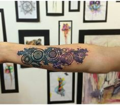 Doctor Who Tattoo by the amazingly talented Koray Karagözler