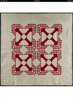 American Folk Art Museum Infinite Variety: Three Centuries of Red and White Quilts