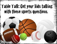 Great questions for the kids.