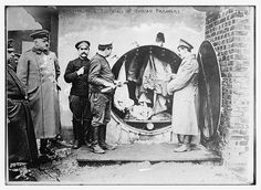 Disinfecting clothing of Russian prisoners (LOC), via Flickr.