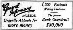 Leeds Infirmary. 15 December, 1926.