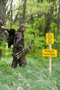 Tips for Turkey Hunting With a Bow