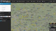 FLIGHTRADAR24 - Živá mapa leteckej dopravy sveta!