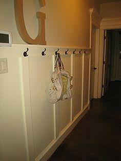 Board and Batton Hallway