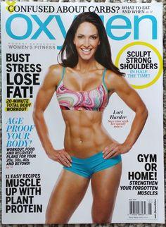 Oxygen Magazine August 2014 Lori Harder. Health & Fitness, Sports, Diet, Beauty
