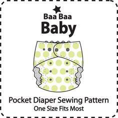 TrimFit OS Pocket Diaper Pattern